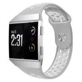 EBN Sport Armband Fitbit Ionic Grå-vit