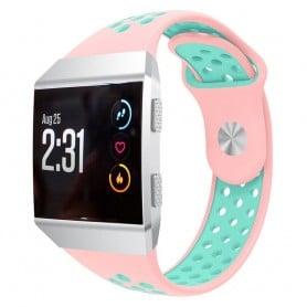 EBN Sport Armband Fitbit Ionic Rosa-Grön