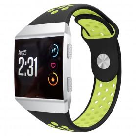 EBN Sport Armband Fitbit Ionic Svart-Grön