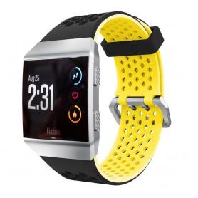 Hole Sport Armband Fitbit Ionic - Svart-Gul