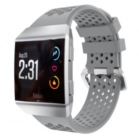 Hole Sport Armband Fitbit Ionic - Grå