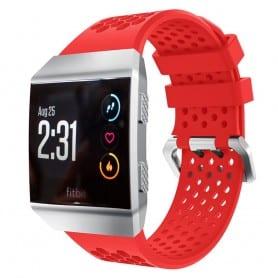 Hole Sport Armband Fitbit Ionic - Röd