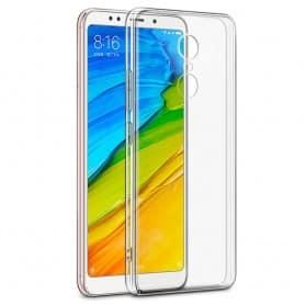 Xiaomi Redmi 5 Silikon skal Transparent mobilskal