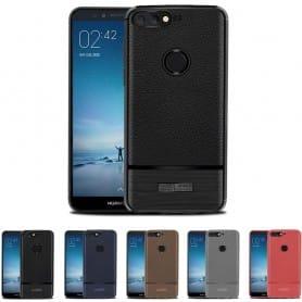 Rugged Armor TPU skal Huawei Y6 2018 mobilskal silikon