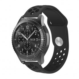 EBN Sport Armband Samsung Gear S3 Mgrå/Svart klockarmband