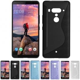S Line silikon skal HTC U12+ mobilskal skydd