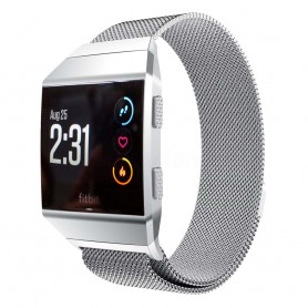 Milanese RSF stål Armband Fitbit Ionic - Silver
