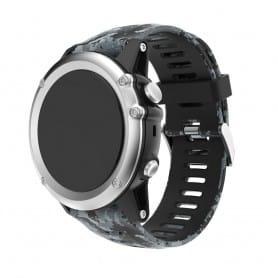 Camo Armband Garmin Fenix 3 / 5X (Mgrå)