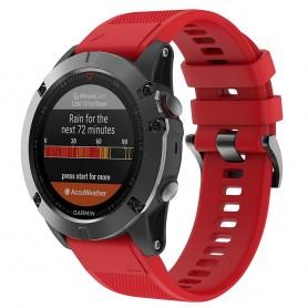 Sport Armband Garmin Fenix 3 / 5X (Röd)