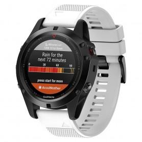 Sport Armband Garmin Fenix 3 / 5X (Vit)