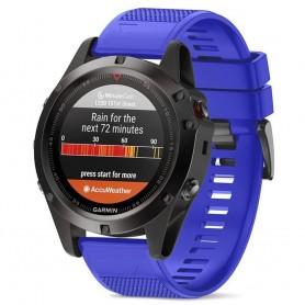Sport Armband Garmin Fenix 3 / 5X (blå)