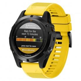 Sport Armband Garmin Fenix 3 / 5X (Gul)