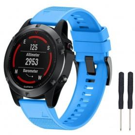Sport Armband Garmin Fenix 5 / Forerunner 935-Ljusblå