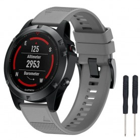 Sport Armband Garmin Fenix 5 / Forerunner 935-Grå