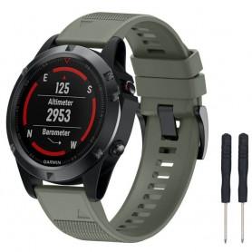 Sport Armband Garmin Fenix 5 / Forerunner 935-Mgrön
