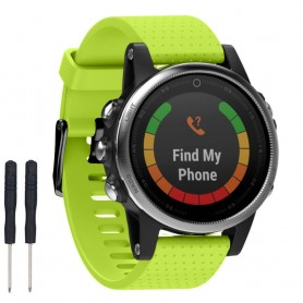 Sport Armband Garmin Fenix 5S - Lime