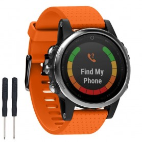 Sport Armband Garmin Fenix 5S - Orange