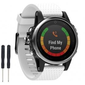 Sport Armband Garmin Fenix 5S - Vit
