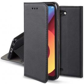 Moozy Smart Magnet FlipCase LG Q6 mobilskal