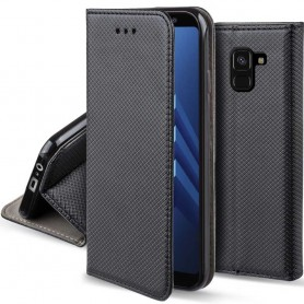 Moozy Smart Magnet FlipCase Samsung Galaxy A8 2018 mobilskal