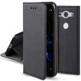 Moozy Smart Magnet FlipCase Sony Xperia XZ2 Compact mobilskal