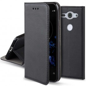 Moozy Smart Magnet FlipCase Sony Xperia XZ2 Compact mobilskal