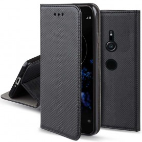 Moozy Smart Magnet FlipCase Sony Xperia XZ2 mobilskal