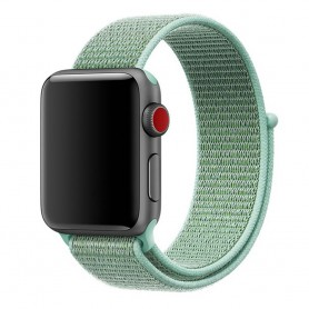 Apple Watch 42mm Nylon Armband - Marine Green