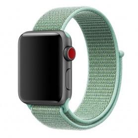 Apple Watch 42mm Nylon Armband - Mint