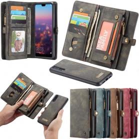 Multiplånbok 11-kort Huawei P20 mobilskal fodral väska caseme caseonline