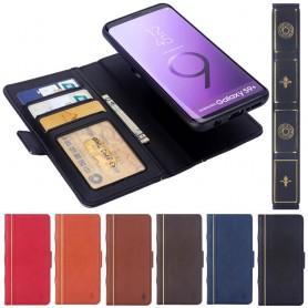 Retro Book Wallet 2i1 Samsung Galaxy S9 Plus mobilskal fodral