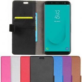 Mobilplånbok 2-kort Samsung Galaxy J6 2018 mobilskal fodral