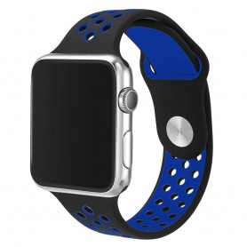 Apple Watch 42mm Sport Armband Svart/blå