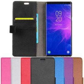 Mobilplånbok 2-kort Samsung Galaxy Note 9 mobilskal fodral skydd