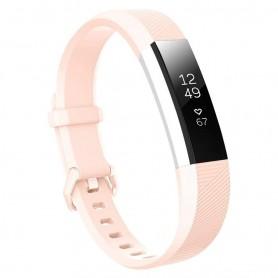 Sport Armband till Fitbit Alta HR - Ljusrosa