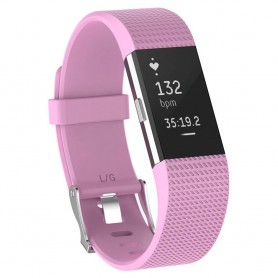 Sport Armband till Fitbit Charge 2 - Rosa