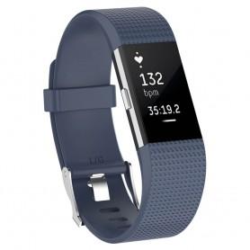 Sport Armband till Fitbit Charge 2 - Gråblå