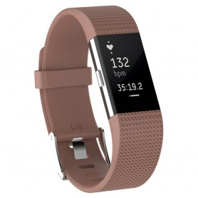 Sport Armband till Fitbit Charge 2 - Brun