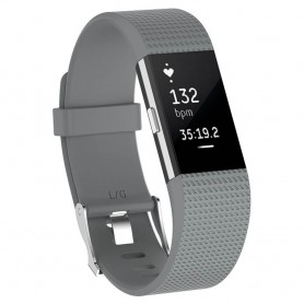 Sport Armband till Fitbit Charge 2 - Grå