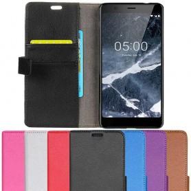 Mobilplånbok 2-kort Nokia 5.1 2018 mobilskal fodral