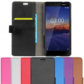 Mobilplånbok 2-kort Nokia 3.1 2018 (TA-1063)
