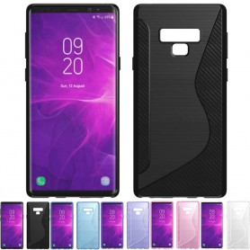 S Line silikon skal Samsung Galaxy Note 9 mobilskal