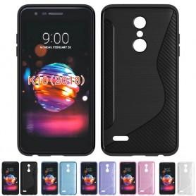S Line silikon skal LG K11 (2018) mobilskal