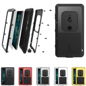 LOVE MEI Powerful Sony Xperia XZ2 stålskal mobilskal caseonline