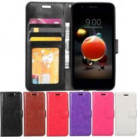 Mobilplånbok 3-kort LG K9 2018 mobilskal fodral