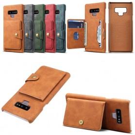 Mobilskal Vintage Flipwallet 3-kort Samsung Galaxy Note 9 CaseOnline