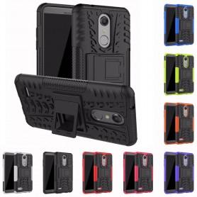 Stöttåligt skal med ställ LG K10 2018 mobilskal caseonline