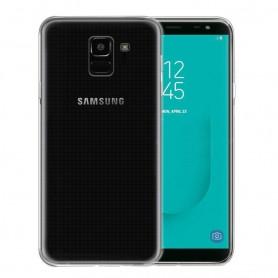 Samsung Galaxy J6 2018 Silikon skal Transparent mobilskal