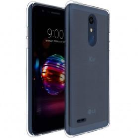 LG K10 2018 Silikon skal Transparent mobilskal skydd