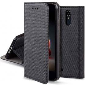 Moozy Smart Magnet FlipCase LG K10 2018 mobilskal caseonline